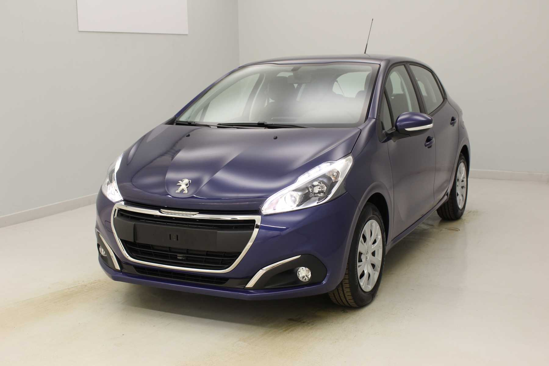 PEUGEOT 208 1.2 PureTech 82ch BVM5 Style Bleu Virtuel + Navigation 3D connectée + Roue de secours avec options