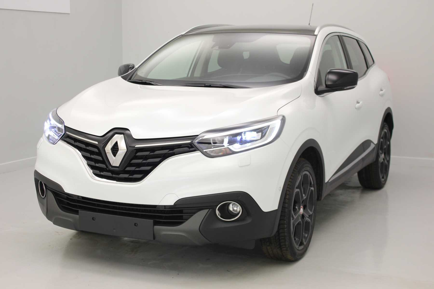 RENAULT Kadjar TCe 130 Energy Intens EDC Blanc Nacré + Pack Cuir + Toit panoramique avec options