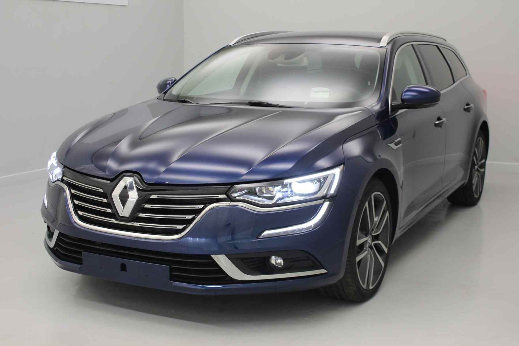 RENAULT Talisman Estate dCi 130 Energy Intens EDC Bleu Cosmos+ Pack 4 Control + Pack de Protection +Lecteur CD avec options