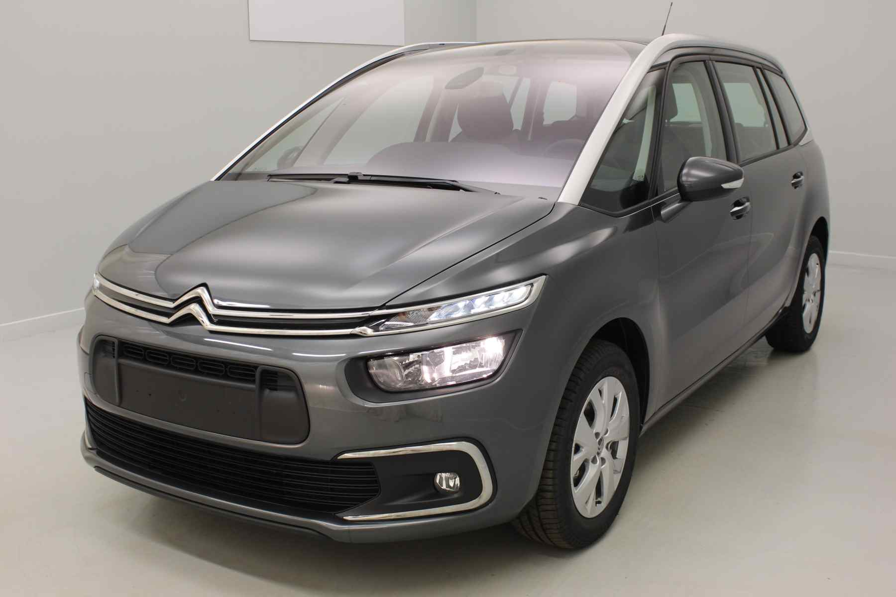 CITROEN Grand C4 Picasso BlueHDi 120 S&S Feel Gris Shark + Accès démarrage mains libres + Alarme avec options