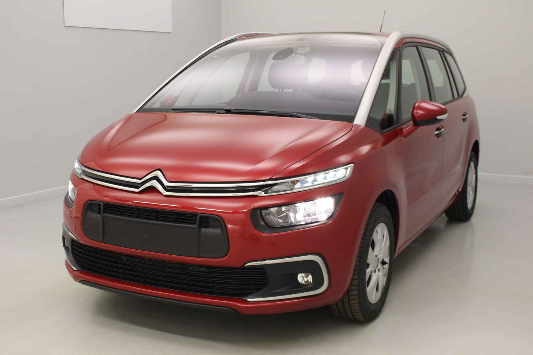 CITROEN Grand C4 Picasso BlueHDi 120 S&S Feel Rouge Rubi + Accès démarrage mains libres + Alarme avec options