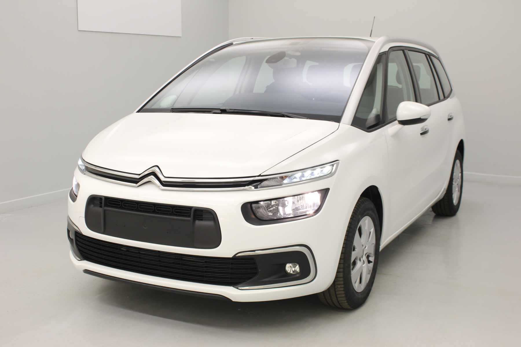 CITROEN Grand C4 Picasso BlueHDi 120 S&S EAT6 Feel Blanc Banquise + Accès démarrage mains libres + Alarme avec options
