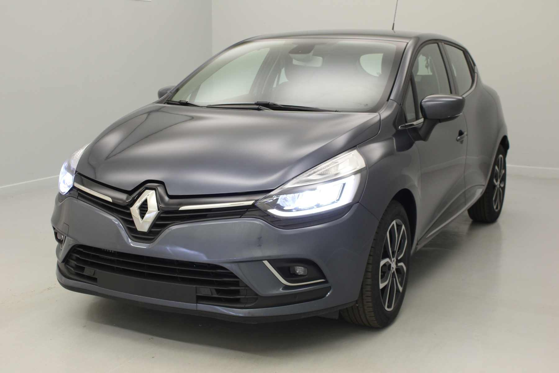 RENAULT Clio IV Nouvelle dCi 90 Energy Intens Gris Titanium + Pack city Plus avec options