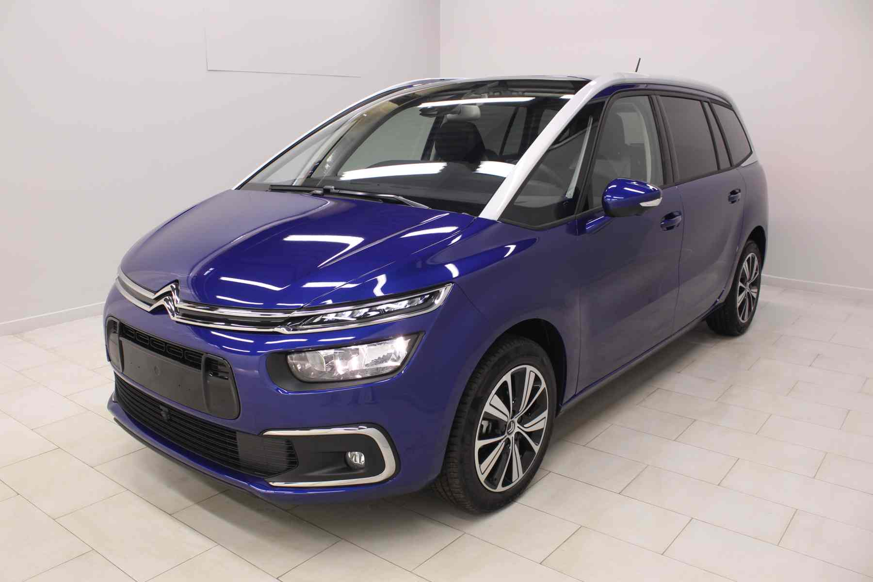 Acheter CITROEN Grand C4 SpaceTourer PureTech 130 S&S Shine Lazuli Blue + Vision 360 + Pack Drive Assist avec options chez un mandataire auto