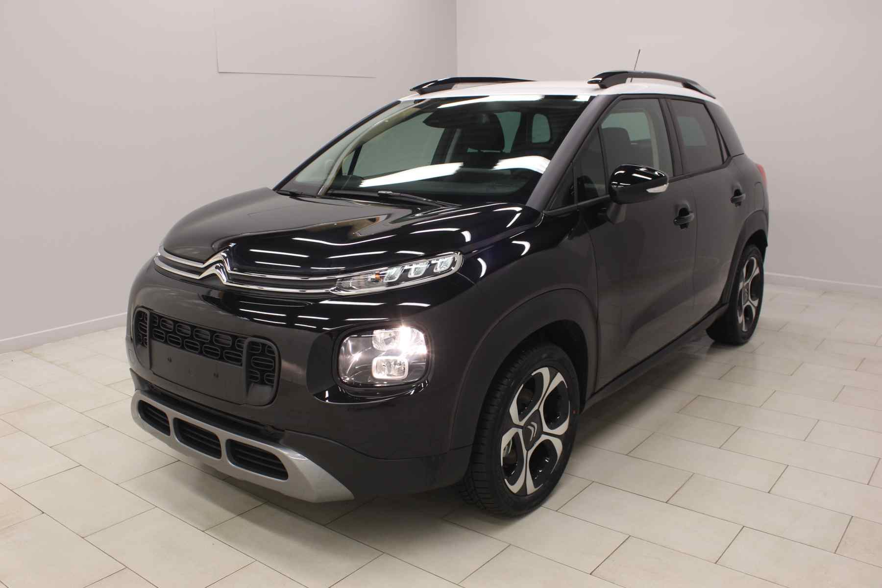 Acheter CITROEN C3 Aircross PureTech 110 S&S Shine Ink Black Toit Natural White + Park assist + Grip Control avec options chez un mandataire auto