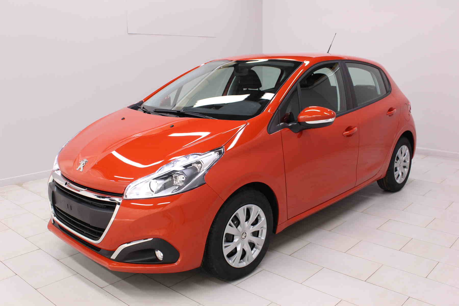 Acheter PEUGEOT 208 BlueHDi 100ch S&S BVM5 Active Orange Power + Mirror Screen + Climatisation automatique avec options chez un mandataire auto