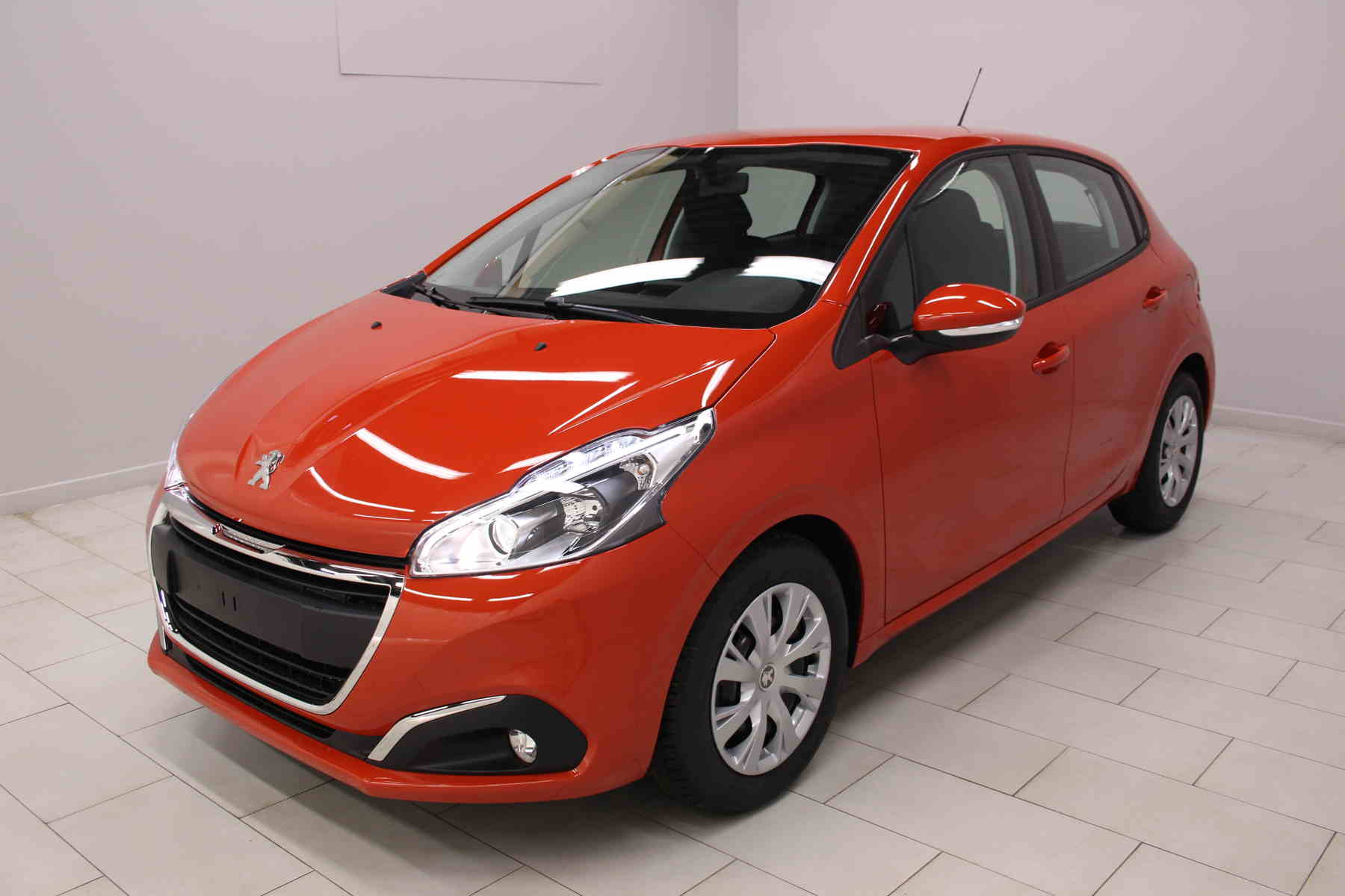 Acheter PEUGEOT 208 BlueHDi 100ch S&S BVM5 Active Orange Power + Sieges chauffants + Mirror Screen avec options chez un mandataire auto
