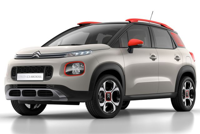 CITROEN Nouveau C3 Aircross BlueHDi 100 BVM5 Shine avec options