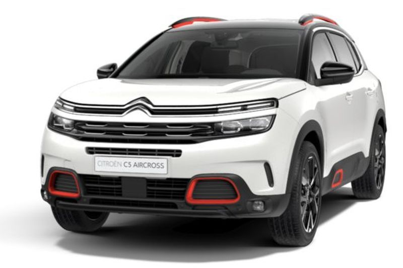 Acheter CITROEN C5 Aircross BlueHDi 180 S&S EAT8 Shine Gris Platinium + Park assist + Toit panoramique avec options chez un mandataire auto