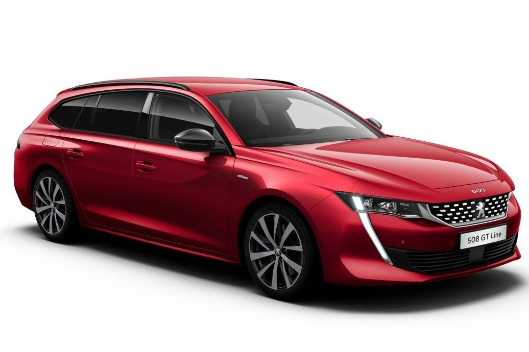 Acheter PEUGEOT 508 SW Nouvelle PureTech 180 ch S&S EAT8 Allure Rouge Ultimate+ Active Suspension Control avec options chez un mandataire auto
