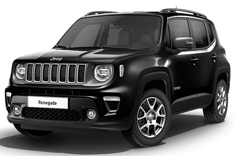 Acheter JEEP Renegade 1.6 l MultiJet 120 ch BVM6 Limited Carbon Black + Park Assist + Sieges avant chauffants avec options chez un mandataire auto