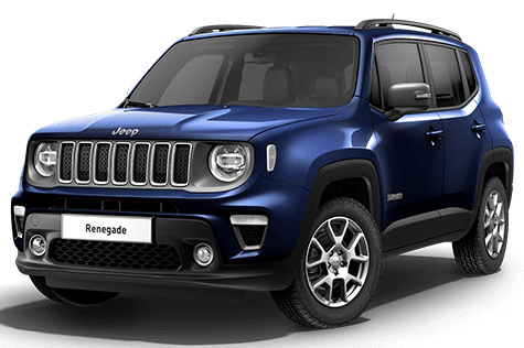 Acheter JEEP Renegade 1.6 l MultiJet 120 ch BVM6 Limited Jet Set Blue + Park Assist + Sieges avant chauffants avec options chez un mandataire auto