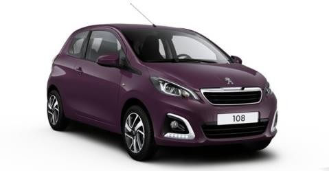 PEUGEOT 108 1.0 VTi 68ch BVM5 Active avec options