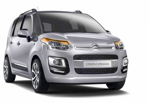 CITROEN C3 Picasso BlueHDi 100 Confort Blanc Banquise + Pack urbain avec options
