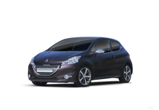 PEUGEOT 208 1.6 BlueHDi 100ch BVM5 Allure 3 portes avec options