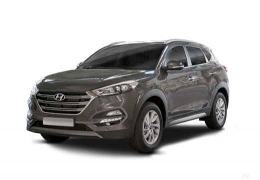 HYUNDAI Tucson 1.7 CRDi 141 2WD Executive DCT-7 Phantom Black avec options