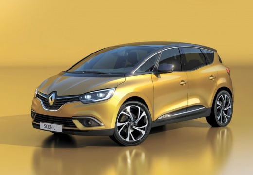 RENAULT Nouveau Scénic dCi 110 Energy Zen + Pack Intens - Gris Cassiopée + GPS + Pack City avec options