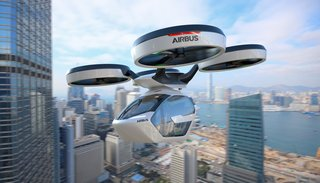 Airbus Pop up qui vole en mode drone