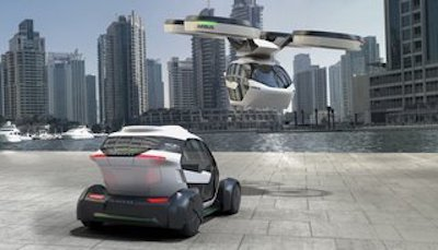 Pop.Up : la voiture volante made in Airbus